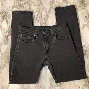 Levi's 511 Jeans Black Size 28x28 Straight Leg